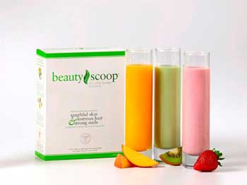 BeautyScoop - Patented Beauty Formula for younger looking skin,strong hair and naila