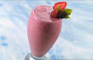 Mouthwatering Multiberry Health Smoothie