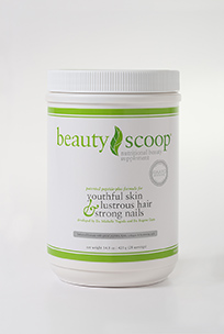 Beauty Scoop Canister Stimulus Packaging