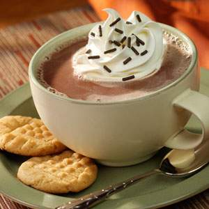 BeautyScoop  Decadent PB&C - the decadent peanut butter hot chocolate treat