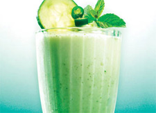 "FROZEN CUCUMBER AND MINT ""EYE OPENER"""