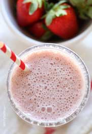BeautyScoop - Protein-Packed Roasted Strawberry Smoothie