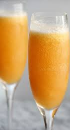 New Year, New You - Frozen Peach Bellini