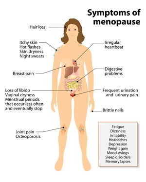 Effects of Menopause on Hair, Skin and Nails